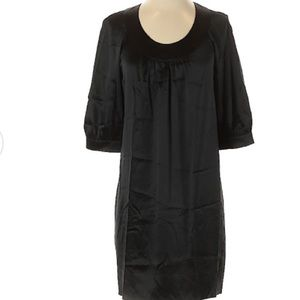Silk VINCE 3/4 Sleeve Cocktail Dress